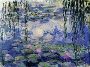 Claude Oscar Monet - Water-Lilies3 1916-1919