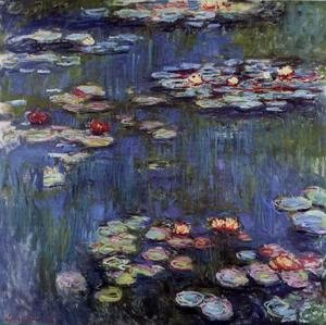 Claude Oscar Monet - Water-Lilies4 1914-1917
