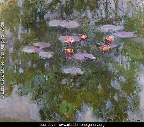 Water-Lilies4 1916-1919