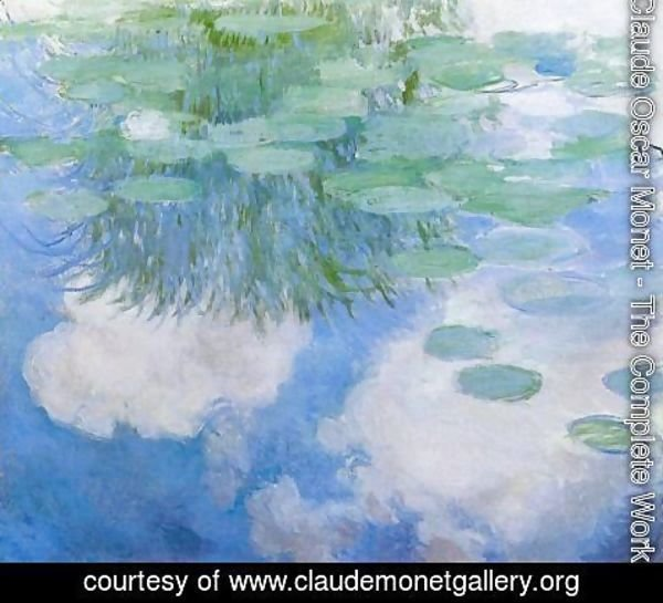 Claude Oscar Monet - Water-Lilies6 1914