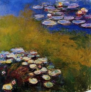 Claude Oscar Monet - Water-Lilies6 1914-1917