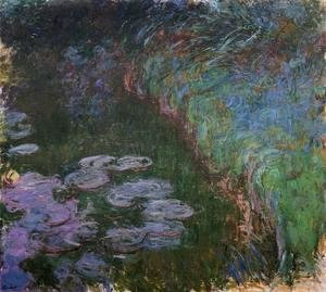 Claude Oscar Monet - Water-Lilies7 1914-1917