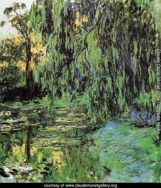 Weeping Willow and Water-Lily Pond2 1916-1919