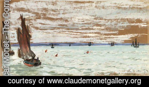 Claude Oscar Monet - Au large (Open Sea)