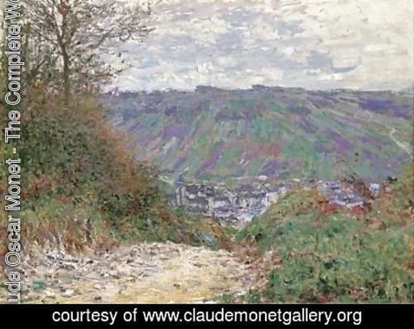 Claude Oscar Monet - Chemin creux AA  Giverny