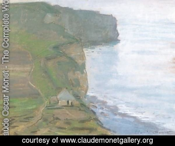 Claude Oscar Monet - Etretat, le cap d'Antifer