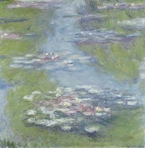 Claude Oscar Monet - Nympheas