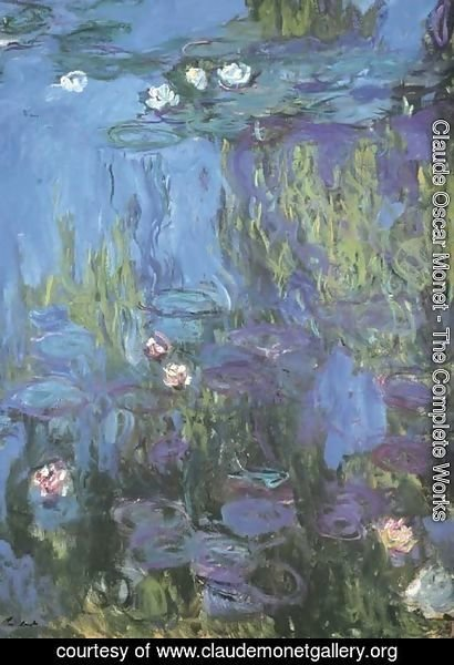 Claude Oscar Monet - Nympheas 2