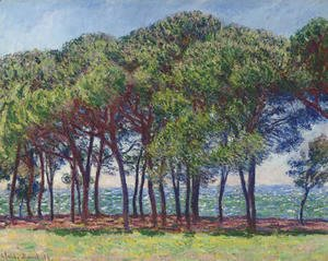 Claude Oscar Monet - Pins, cap d'Antibes