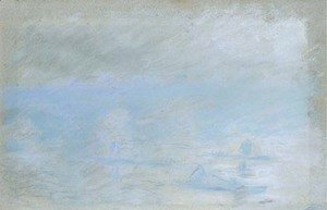 Claude Oscar Monet - Waterloo Bridge, brouillard