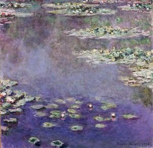 Claude Oscar Monet - Nympheas 3