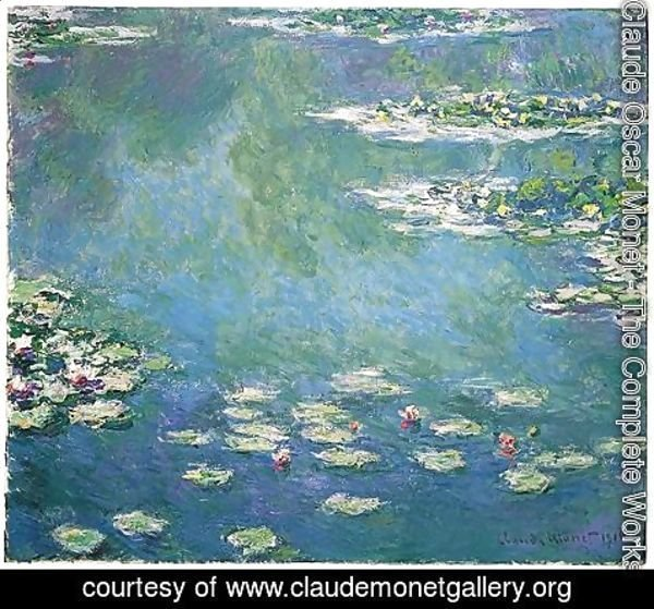 Claude Oscar Monet - Nympheas 4