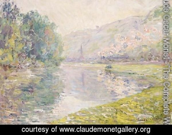 Claude Oscar Monet - Le Train A Jeufosse