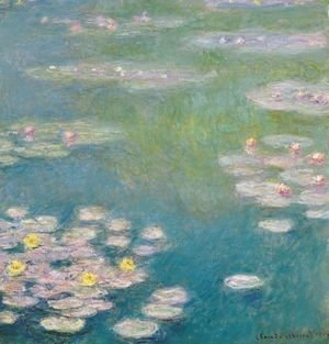 Claude Oscar Monet - Nympheas 5