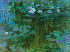 Claude Oscar Monet - Nympheas 6