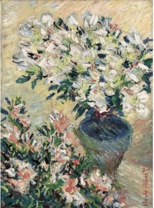 Claude Oscar Monet - Azalees Blanches En Pot