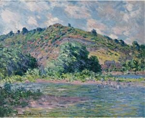 Claude Oscar Monet - Bords De La Seine A Port-Villez