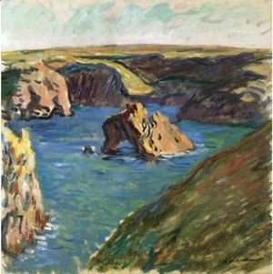 Claude Oscar Monet - Belle-Ile
