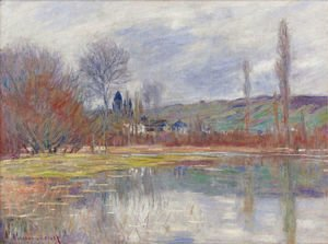 Claude Oscar Monet - Printemps A Vetheuil
