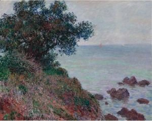 Claude Oscar Monet - Bords De La Mediterranee, Temps Gris