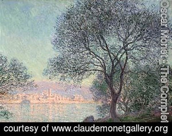 Claude Oscar Monet - The Complete Works - Antibes vue de la