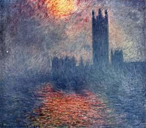 Claude Oscar Monet - Houses of Parliament, Sunset