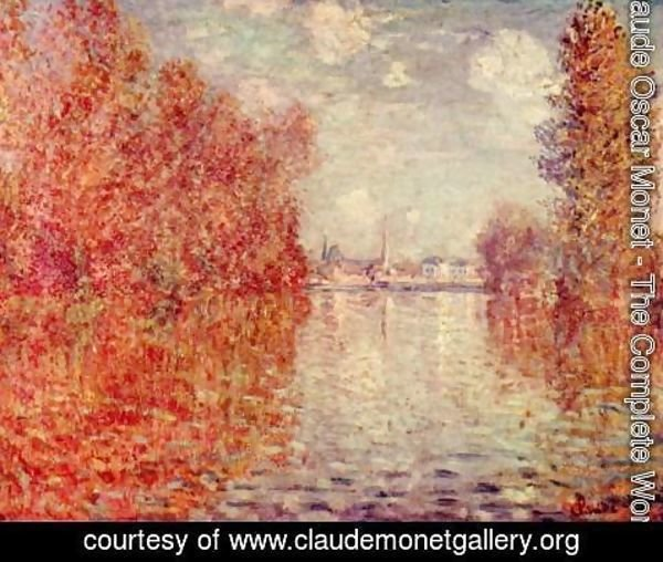 Claude Oscar Monet - Autumn in Argenteuil