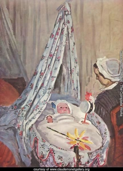 Jean Monet in his crib