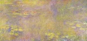 Claude Oscar Monet - Water lilies ('Yellow Nirvana')