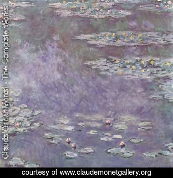 Claude Oscar Monet - Water-Lily Pond 2