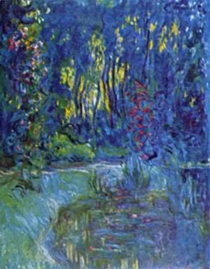 Claude Oscar Monet - Water garden at Giverny 2