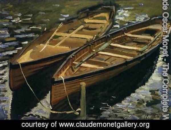 Claude Oscar Monet - The Boats