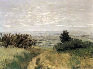 Claude Oscar Monet - The Plain of Sannois at Argenteuil