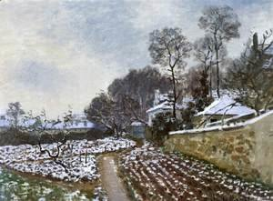 Claude Oscar Monet - Thaw in Argenteuil