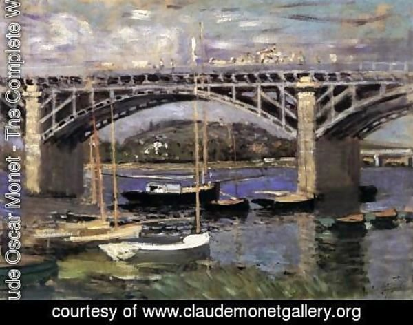 Claude Oscar Monet - The Bridge at Argenteuil 2