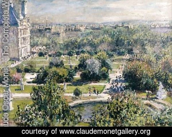 Claude Oscar Monet - View of the Tuileries Garden