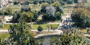 View of the Tuileries Garden (detail)