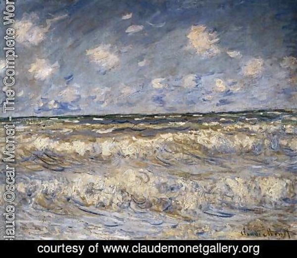 Claude Oscar Monet - Stormy Sea
