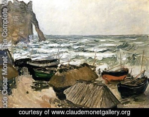 Claude Oscar Monet - Fishing Boats 2