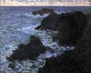 The Rocks of Belle Ile (Rough Sea)