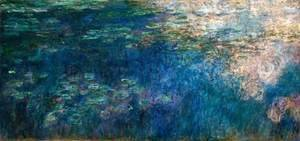 Claude Oscar Monet - Water Lilies 45