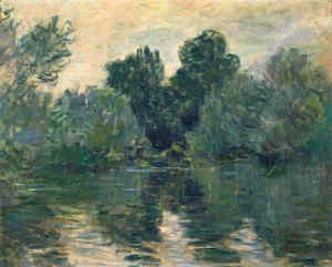 Claude Oscar Monet - The Arm of the Seine