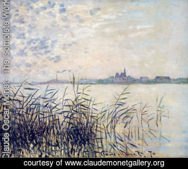Claude Oscar Monet - The Seine near Argenteuil