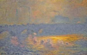 Claude Oscar Monet - Waterloo Bridge
