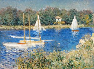 Claude Oscar Monet - The Seine at Argenteuil 5