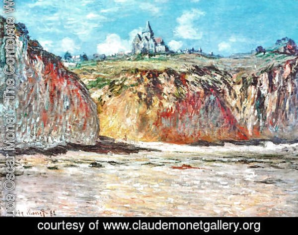 Claude Oscar Monet - The Church at Varengeville 02