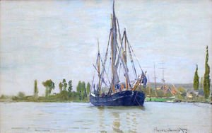 Claude Oscar Monet - The Sailing Boat