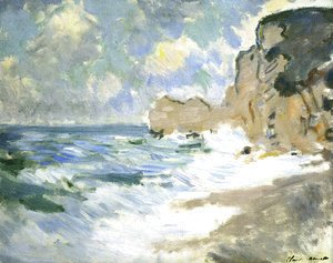 Claude Oscar Monet - Receding Waves