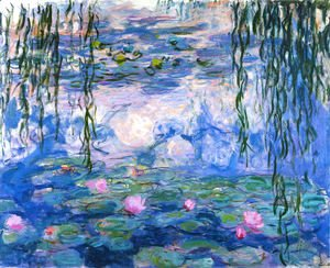 Claude Oscar Monet - Water Lilies 48