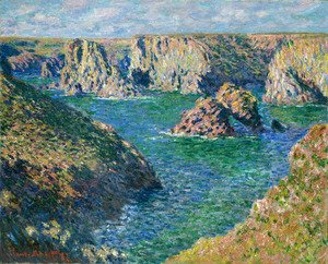 Claude Oscar Monet - Port Donnant, Belle Ile